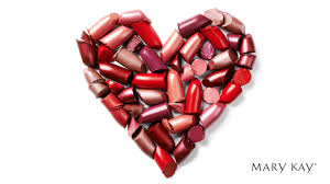 Mary Kay lipstick heart
